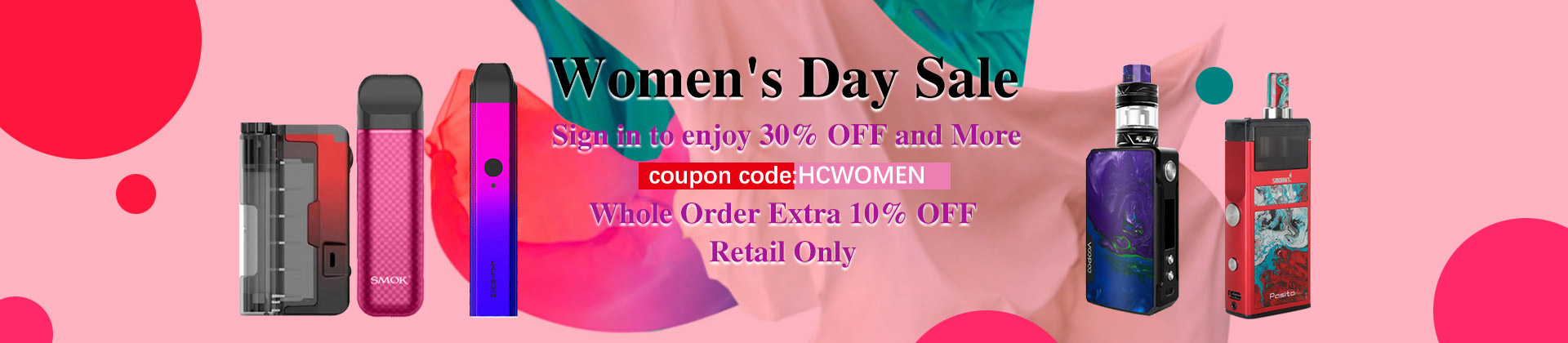 healthcabin - Women's Day Sale – Avail 30% OFF on most products
