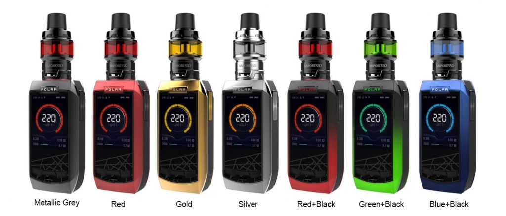 Vaporesso Polar Kit Colors