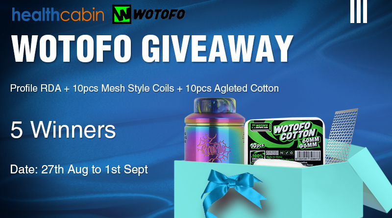 WOTOFO Profile RDA Giveaway