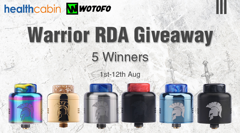Warrior RDA Giveaway