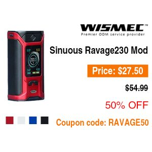 Wismec Sinuous Ravage230