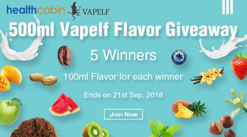 500ml Vapelf Flavor Giveaway