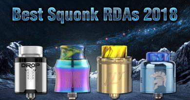 Best Squonk RDAs 2018