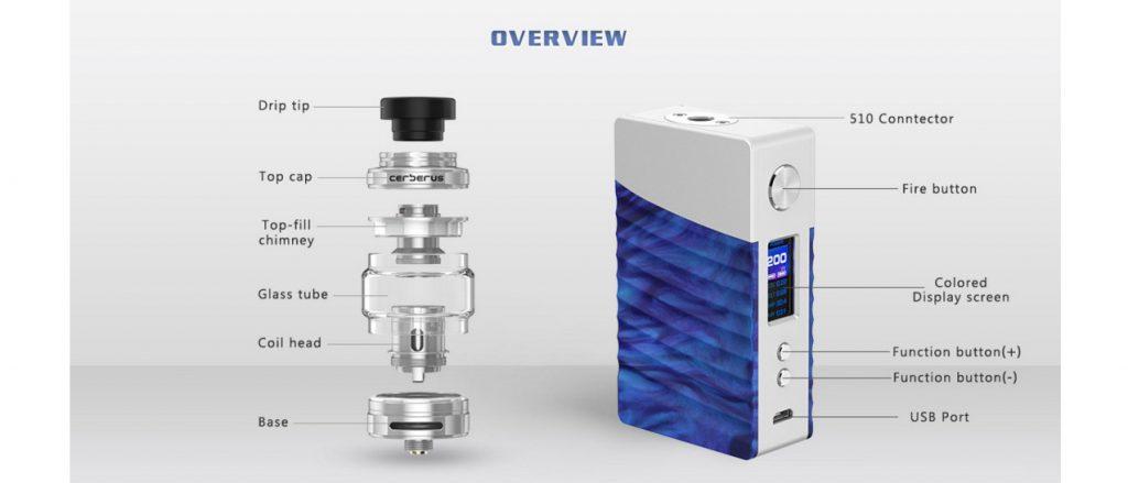 Geekvape Nova 200W Mod Kit