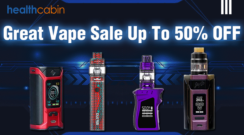 Great Vape Sale Up To 50% OFF