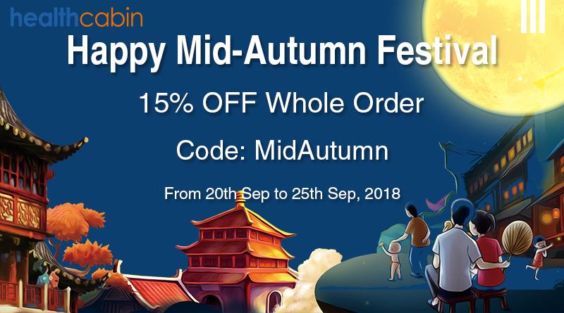 Mid-Autumn Festival Sale   HealthCabin