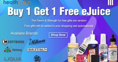 Eliquid Buy One Get One Free
