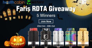 Wotofo Faris RDTA Giveaway