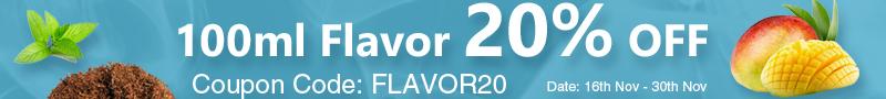 100ml-Flavor-20%-OFF