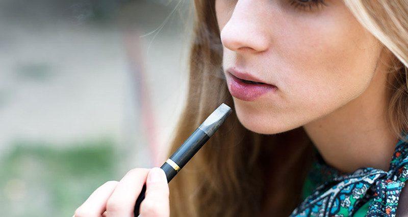 vaping e-cigarette