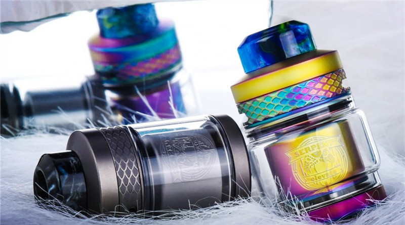 Review Serpent Elevate RTA by Wotofo