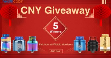 WOTOFO Atomizers giveaway