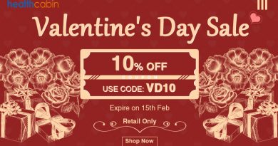 Valentine's Day Sale 10% OFF