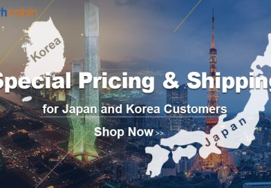 Special Pricing & Shipping for JP and KR