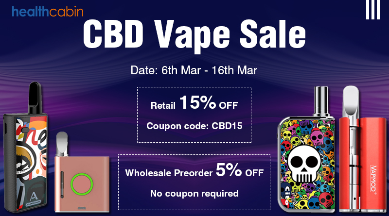 CBD Vape Sale