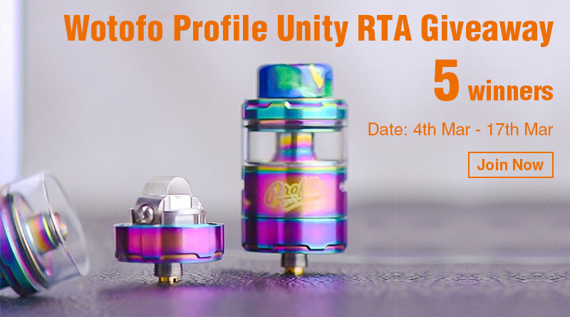 Wotofo Profile Unity Giveaway