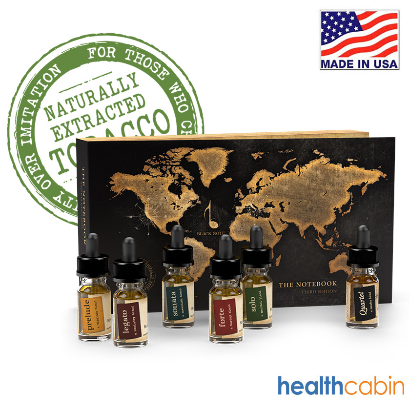 Black Note Gift Box Set E-liquid