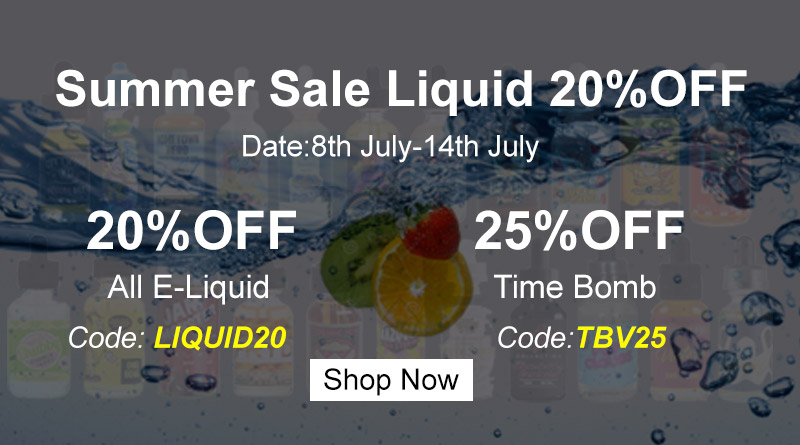 Summer Sale liquid up to 25% OFF