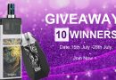 July Giveaway – Smoant Pasito & Vapeonly Joya Kit