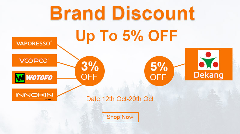 Brand Discount Up To 5% OFF
