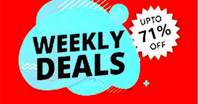 Weekly Hot Discount Products