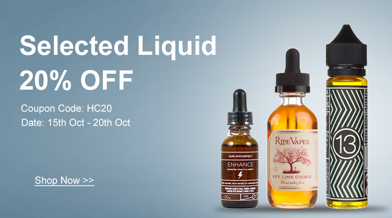 Clearance! Selected Liquid 20% OFF