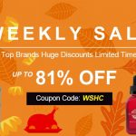 Weekly Sale Up To 81% OFF