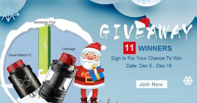 Giveaway – 11 Winners