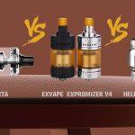 Wotofo COG MTL RTA Preview & EXVAPE Exomizer V4 MTL and HELLVAPE Destiny RTA Review