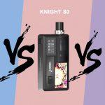 Smoant Knight Pod-Preview &  VS Smoant Pastio VS Lost Vape Q UltraReview