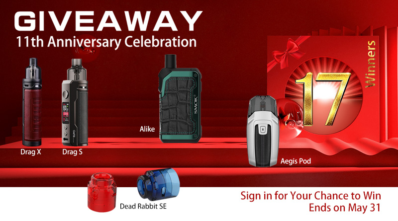 11th Anniversary Celebration GIVEAWAY-17 Winners