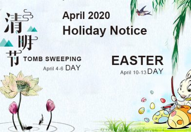About Holidays in April for HK & SZ Warehouse