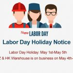 Labor Day Holiday Notice