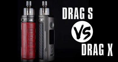Voopoo Drag X 80W Mod Pod Kit first look & VS Drag S
