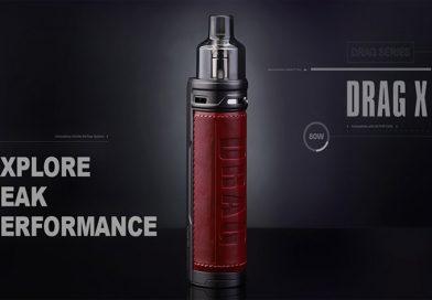 Voopoo Drag X 80W Mod Pod Kit 新品レビュー & VS Drag S
