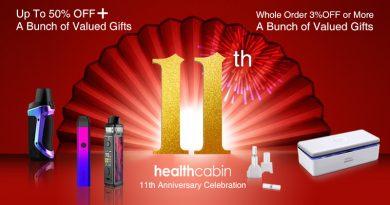 11th Anniversary Celebration – 6 Rewards