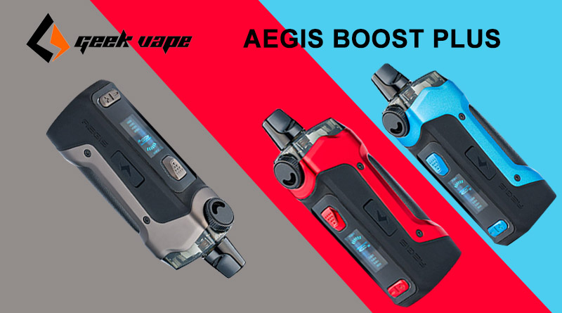 Geekvape Aegis Boost Plus-Preview