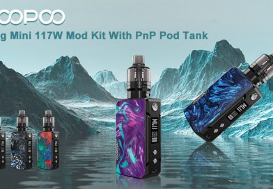 Voopoo Drag Mini With PnP Pod Tank-Preview