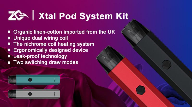 ZQ Xtal Pod System Kit 新品レビュー
