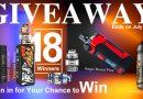 GIVEAWAY-18 Winners-July