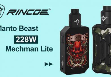 [Quick Look]Rincoe Manto Beast and Mechman Lite RDA Kit