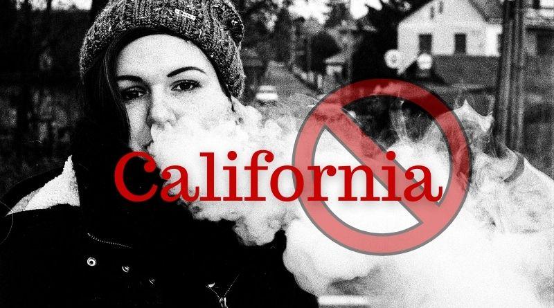 California ban sells of e-cig