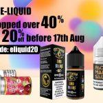 US Made E-liquid Price Dropped over 40%