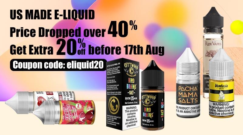 us eliquid price dropped