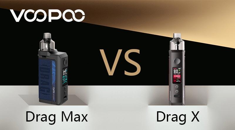 Drag Max VS DRAG X