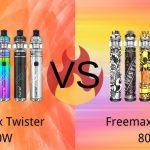 Freemax Twister 30W VS Twister 80W