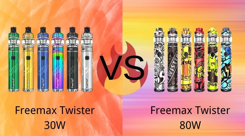 Freemax Twister 30W VS Freemax Twister 80W