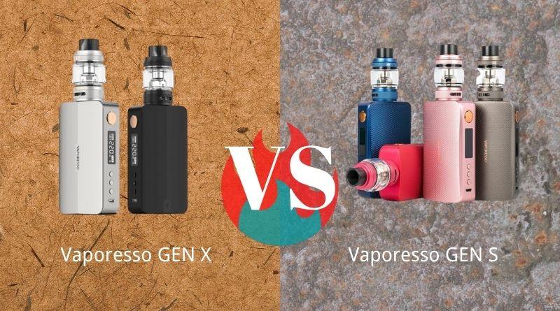 Vaporesso Gen S vs Gen X