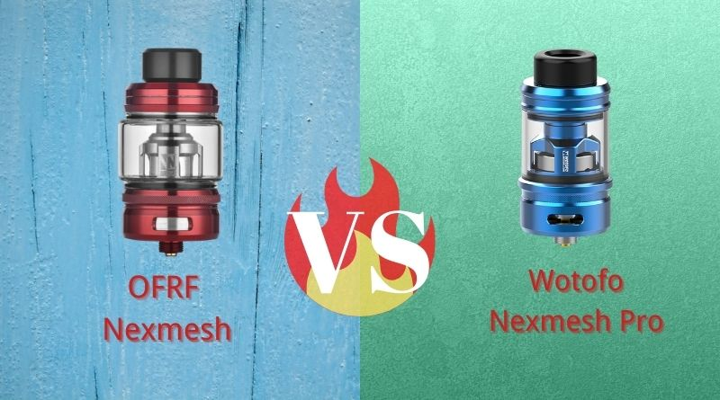 Wotofo NexMESH Pro VS OFRF NexMesh