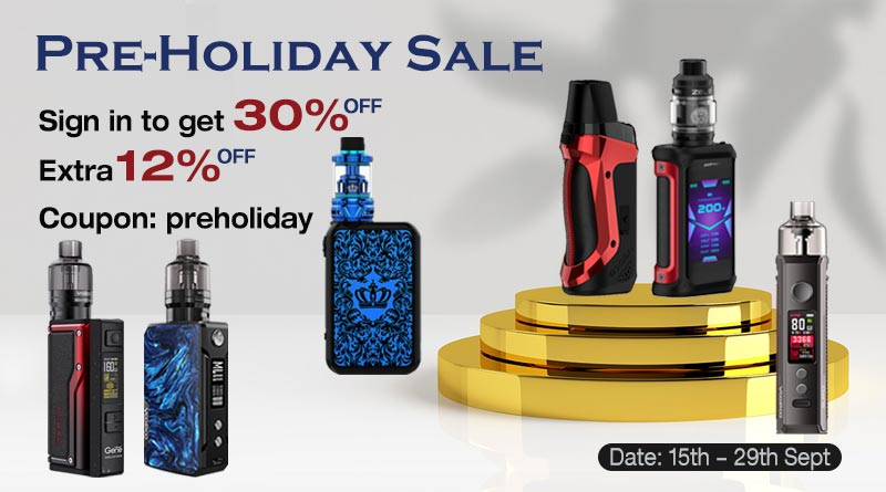 pre-holiday sale